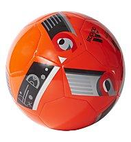 Adidas EURO16 Glider Turf - pallone da calcio terreni duri, Red