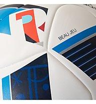 Adidas UEFA EURO 2016 Top Replique X 5 pallone da calcio, White/Brblue/Nindig