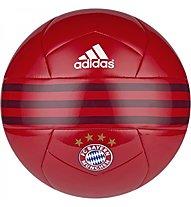Adidas Pallone da calcio FC Bayern, FCB True Red/C.Red/White