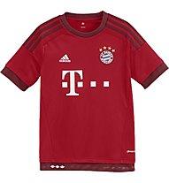 Adidas FC Bayern München Replica Spieler-Heimtrikot 2015/16, True Red/Craft Red
