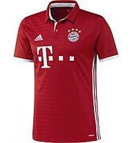 Adidas FC Bayern München Home Replica Jersey - maglia calcio, Red