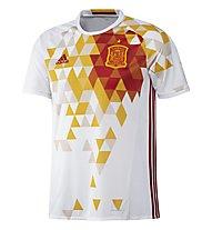 Adidas UEFA EURO 2016 Spanien Auswärtstrikot Replica, White/Red