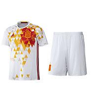 Adidas Set maglia + pantalone corto calcio Away Nazionale Spagna Replica EURO 2016