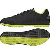Adidas FF Crazyquick Fußballschuhe, Black/Light Green