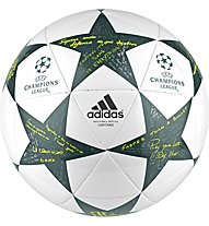 Adidas Finale 16 UEFA Champions League Capitano, White/Grey
