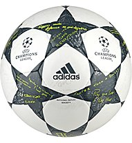 Adidas Finale 16 UEFA Champions League - Fußball, White/Grey