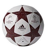 Adidas Finale 16 FC Bayern Capitano - pallone da calcio, White/Red