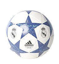 Adidas Finale 16 Real Madrid Capitano - pallone da calcio, White/Blue