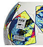 adidas Finale Competition - pallone da calcio, White/Cyan/Yellow