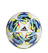adidas Finale Competition - Fußball, White/Cyan/Yellow