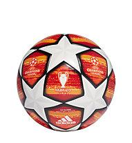 adidas UCL Finale Madrid Top Training - pallone calcio, Red/Orange/White