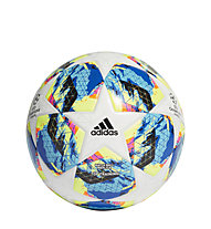 adidas Finale Top Training - Fußball, White/Cyan/Yellow