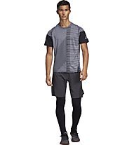 adidas FreeLift 360 Strong Graphic - T-shirt fitness - uomo, Grey