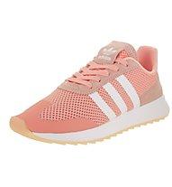 adidas Originals FLB W - Sneaker - Damen, Coral/White