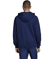 adidas Originals Flock Trefoil - felpa con cappuccio - uomo, Blue