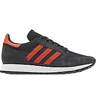 adidas Originals Forest Grove - sneakers - uomo, Black/Red