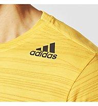 Adidas Freelift Aero - T-Shirt - Herren, Yellow