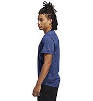 adidas Freelift Sport Graphic Bos - T-Shirt - Herren, Dark Blue