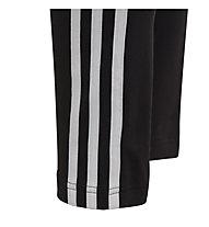 adidas G 3S - pantaloni lunghi fitness - bambina, Black/White