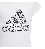 adidas G Graphic - T-shirt - Mädchen, White