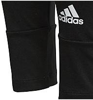 adidas Gear Up Linear Tight - pantaloni fitness - ragazza, Black/White