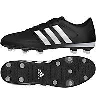 Adidas Gloro 16.1 FG Fußballschuh für harte, trocknene Rasenplätze, Core Black/White/Silver