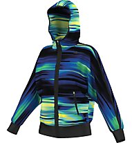 Adidas Graphic Woven Jacket Donna, Midnight Indigo