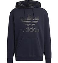 adidas Originals Graphics Camo - felpa con cappuccio - uomo , Dark Blue