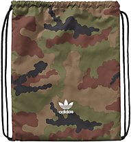 Adidas Camouflage Gym Sack Sacca Portascarpe, Military