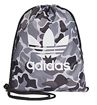adidas Originals Camo - sacca ginnica, Grey/Black