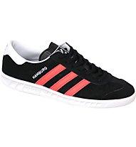 adidas Hamburg - Sneakers - Herren, Black/Red
