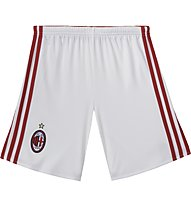 Adidas Home AC Milan Short, Core White/Victory Red