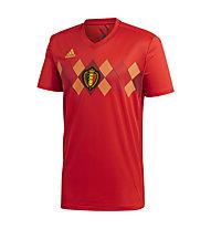 adidas Home Belgium - Fußballtrikot - Herren, Red