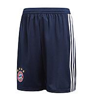 adidas Home Replica FC Bayern München Jr. - pantaloni calcio - bambino, Blue/White