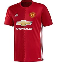 Adidas Home Replica Manchester United FC - Fußballshirt, Red