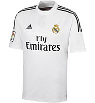 Adidas Home Replica Player Real Madrid - Maglia Calcio, White