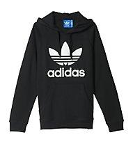 Adidas Originals Hoodie Trefoil - felpa con cappuccio, Black
