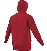 Adidas Originals Hoodie Trefoil Kapuzenpullover, Red