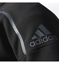 Adidas Hooded Track Top Giacca con cappuccio fitness, Black
