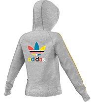 Adidas Originals Hooded Track Topgirl Z Hoodie Giacca con cappuccio, Grey