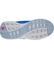 Adidas Hyperfast 2.0 CF K - scarpe da ginnastica bambino, Light Blue
