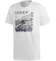 adidas Id Photo Tee - T-Shirt - Herren, White