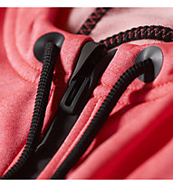 Adidas Daybreaker Kapuzenjacke Damen, Flash Red