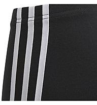 adidas Originals 3-Streifen-Leggings Junior - Fitnesshose - Mädchen, Black/White