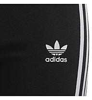 adidas Originals J 3STR - pantaloni fitness - ragazza, Black/White