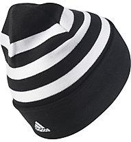 Adidas Juve 3-Stripe Woolie - Fussballmütze, Black/White