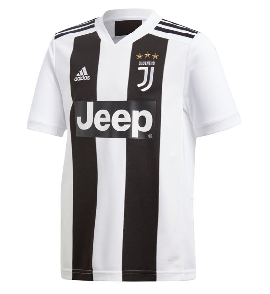 adidas Juventus Home Jersey Y Fußballtrikot Replica Home Juve Kinder |