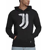 adidas Juve Hoodie - felpa con cappuccio - uomo, Black