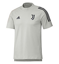 adidas Juventus Turin 20/21 Tee - Fußballtrikot - Herren, White