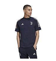 adidas Juventus Turin 20/21 Tee - Fußballtrikot - Herren, Dark Blue